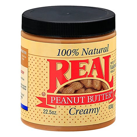 Real Creamy Peanut Butter - 22.5 Oz