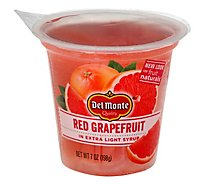 Del Monte Fruit Naturals Fruit Snack Red Grapefruit In Extra Light Syrup - 7 Oz