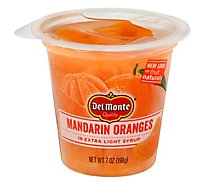 Del Monte Fruit Naturals Fruit Snack Mandarin Orange In Extra Light Syrup - 7 Oz