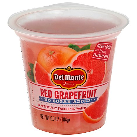 Del Monte Fruit Naturals Fruit Snack No Sugar Added Red Grapefruit - 6.5 Oz