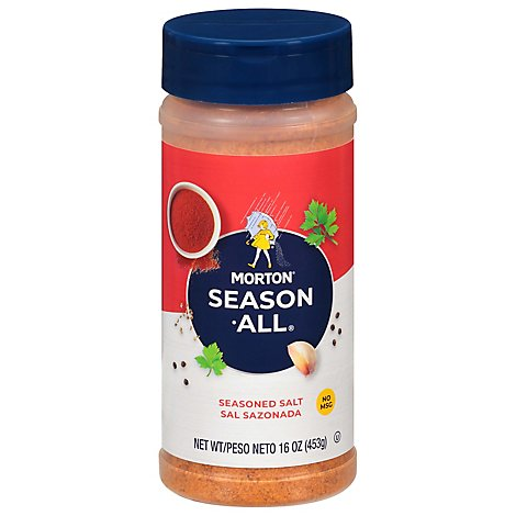 Morton Season All Seasoned Salt - 16 Oz