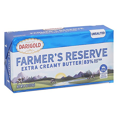 Darigold Farmers Reserve Unsalted Butter - 8 Oz