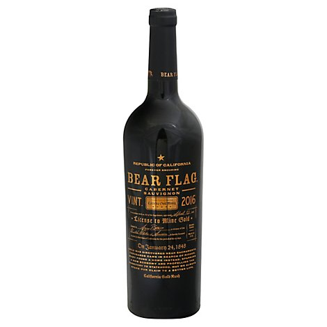 Bear Flag Sonoma County Cabernet Sauvignon Red Wine - 750 Ml