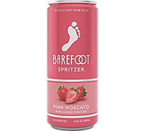 Barefoot Spritzer Pink Moscato Wine Can - 250 Ml