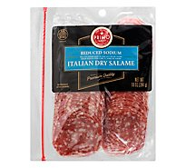 Primo Taglio Salame Italian Dry Reduced Sodium - 10 Oz