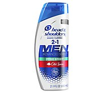 Head & Shoulders Advanced Series Men Shampoo + Conditioner Pure Sport Old Spice - 21.9 Fl. Oz.