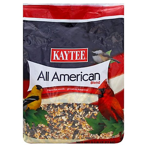 Kaytee Bird Seed All American Blend - 5 Lb