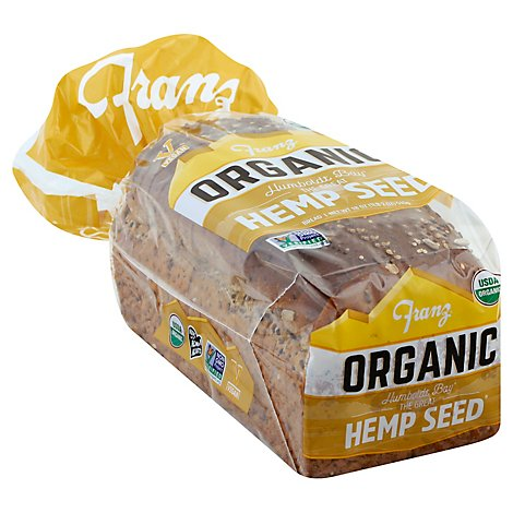 Franz Organic The Great Hemp Seed Bread - 18 Oz