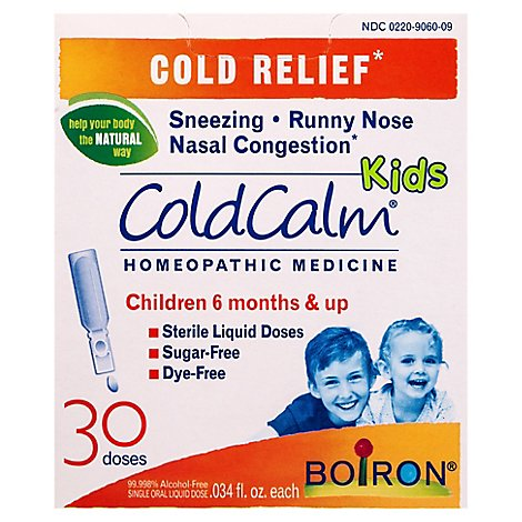 Coldcalm Kids Liquid Doses - 30 Count