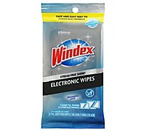 Windex Electronics Wipes 25 ct