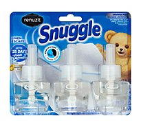Renuzit Snuggle Scented Oil Plug In Refills Linen Escape 3 Count - 2.13 Fl. Oz.