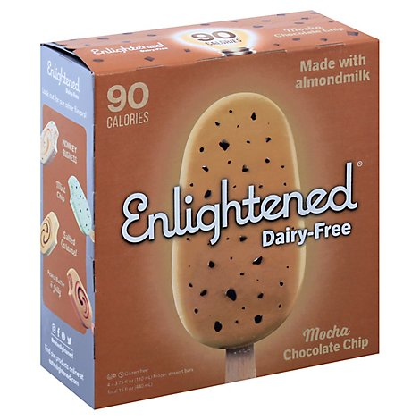 Enlightened Ice Cream Bar Df Mocha - 15 Fl. Oz.