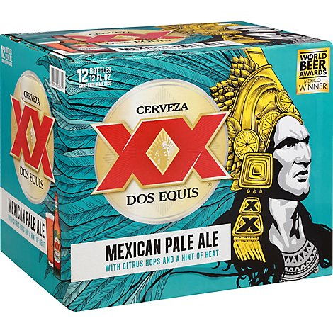 Dos Equis Mexican Pale Ale In Bottles - 12-12 Fl. Oz.