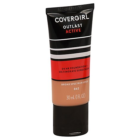 Cg Ol Active Foundtn Natural Tan - 1 Fl. Oz.