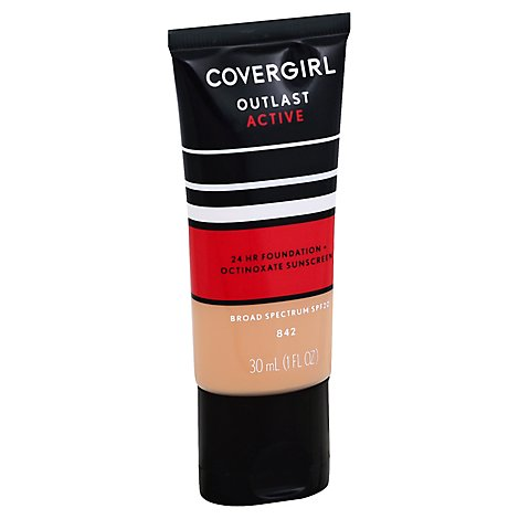 Cg Ol Active Foundtn Medium Beige - 1 Fl. Oz.