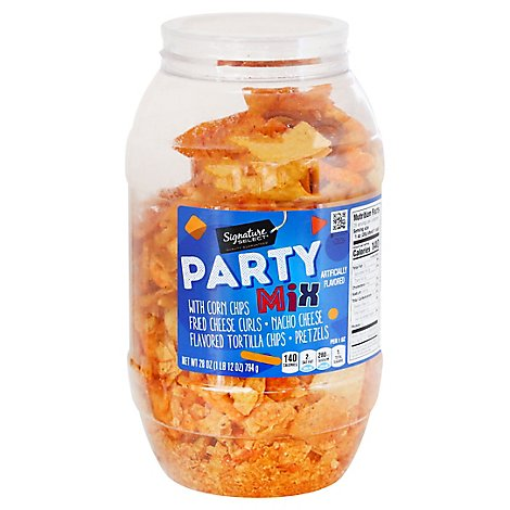 Signature SELECT Snacks Party Mix Barrel - 28 Oz