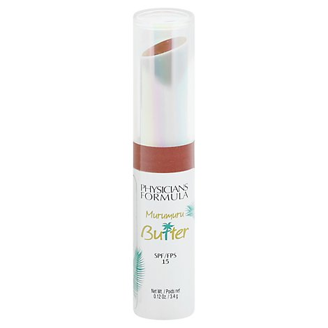 Physic Butter Lip Crm Spf15- Nut - 0.12 Oz