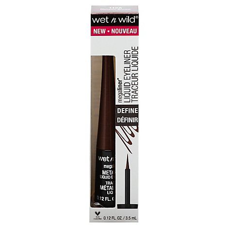 Markwi Ml Liq E/L - Metallic Brown - 0.12 Fl. Oz.