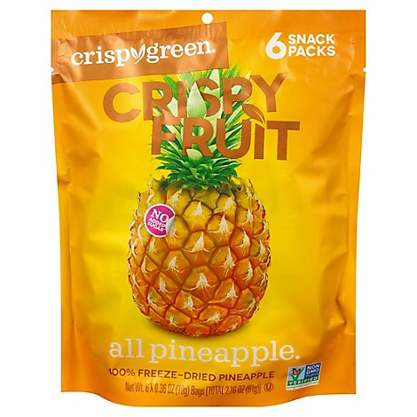 Crispygreen Crispy Fruit Pineapple - 2.16 Oz