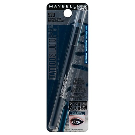 Maybel Tattoo Std Liner Strike Navy - 0.04 Oz