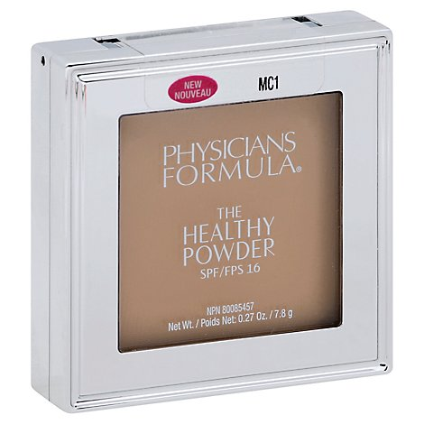 Physic Healthy Powder Spf16- Mc1 - 0.27 Oz