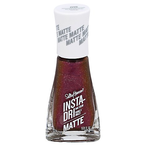 Insta Dri Matte Metal Burn - 0.31 Fl. Oz.