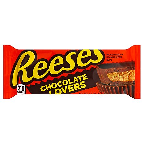 Reeses Peanut Butter Cups Chocolate Lovers Regular Count - Each