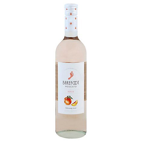 Barefoot Cellars Peach Moscato White Wine - 750 Ml