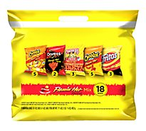Frito Lay Flamin Hot Mix 18 Ct.