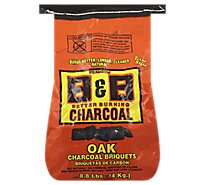 B&B Natural Oak Briquets - 8.8 Lb