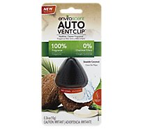 Enviroscent Seaside Coconut Auto Vent Clip - Each
