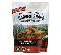 Harvest Snaps Southern Style Barbecue Black Bean Snack Crisps - 3 Oz.