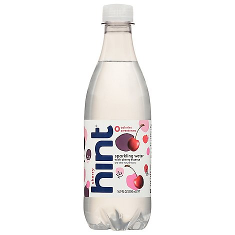 hint Sparkling Water With Cherry - 16.9 Fl. Oz.