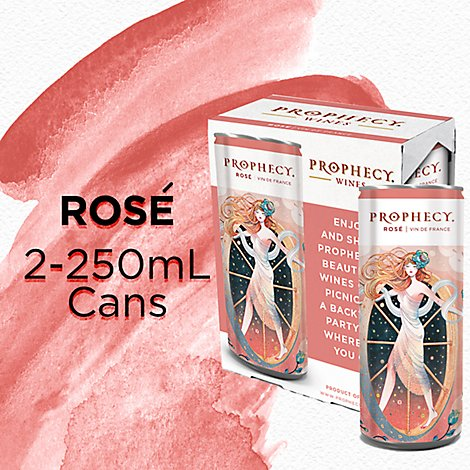 Prophecy French Rose Wine Cans -2 - 250 Ml