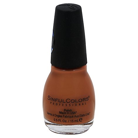 Sinful Colors Hot Toffee - 0.5 Fl. Oz.