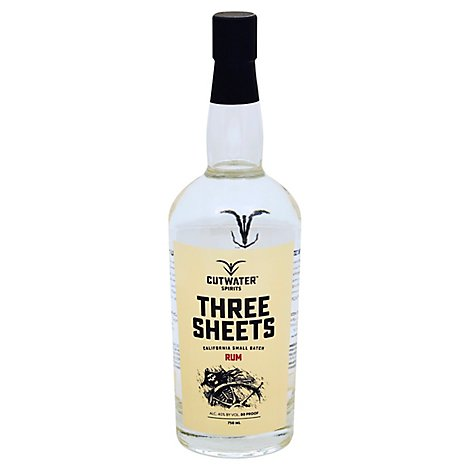 Cutwater Three Sheets Rum - 750 Ml