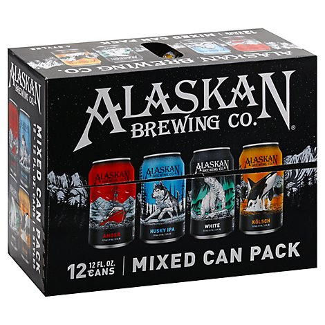 Alaskan Mixed Pack In Cans - 12-12 Fl. Oz.