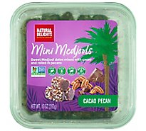 Bard Valley Medjool Date Rolls Cacao With Pecans - 10 Oz
