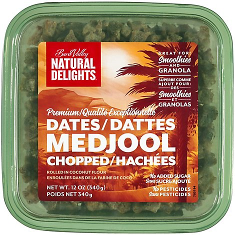 Bard Valley Medjool Dates Chopped - 12 Oz