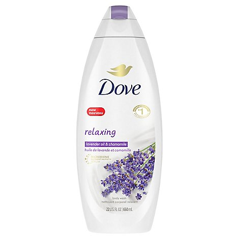 Dove Body Wash Relaxing Lavender - 22 Fl. Oz.