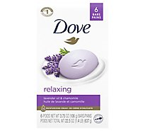Dove Purely Pampering Beauty Bar Relaxing Lavender - 6-4 Oz