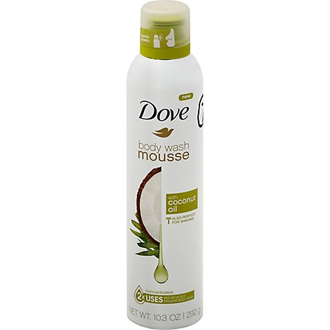 Dove Shower Mousse Coco Oil - 10.3 Oz