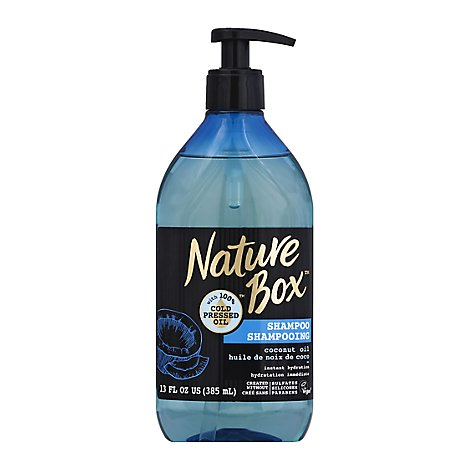 Nature Box Coconut Shampoo - 13 Fl. Oz.