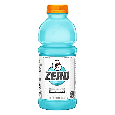 Gatorade G Zero Sugar Glacier Freeze - 20 Fl. Oz.