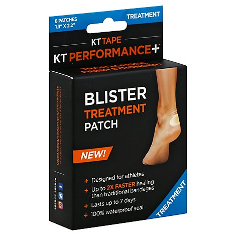 Kt Tape Blister Treatment - 6 Count