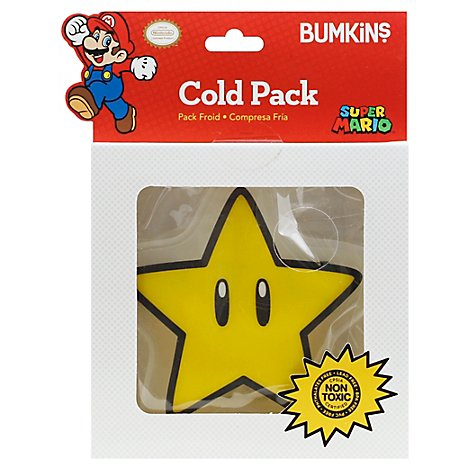 Bumkins Cold Pack Nintendo Super Star - Each