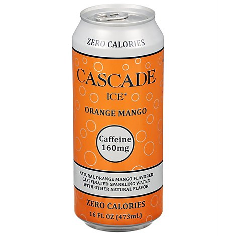 Cascade Ice Caff Orange Mango - 16 Fl. Oz.