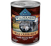 Blue Wilderness Wolf Creek Beef Stew Wet Dog Food - 12.5 Oz