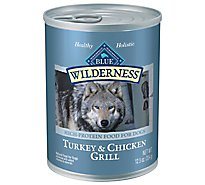 Blue Wilderness Dog Trky & Chkn Grill - 12.5 Oz