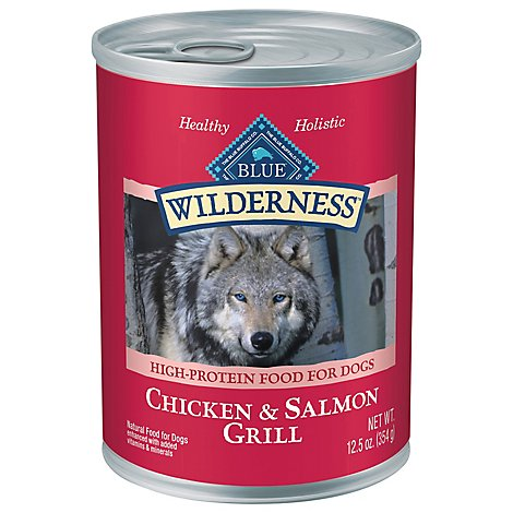 Blue Wilderness Dog Salmon And Chicken - 12.5 Oz